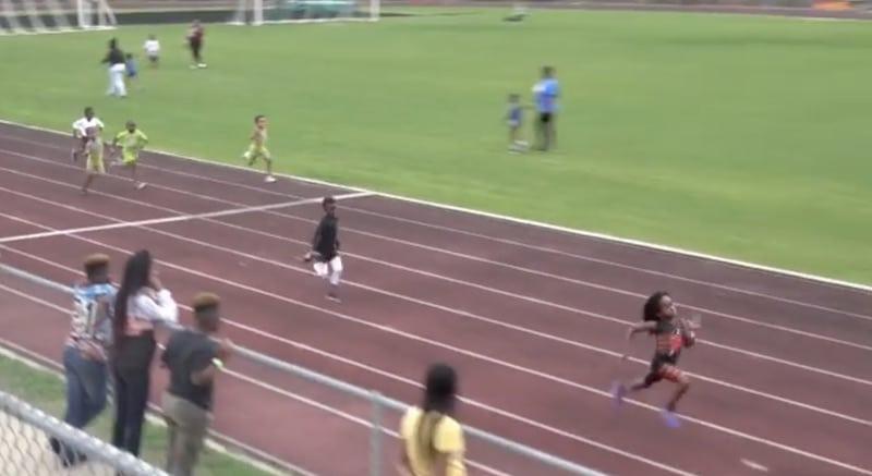 Video: Onko tässä uusi Usain Bolt? 7-vuotias juoksi hirmuisen ajan 100 metrillä
