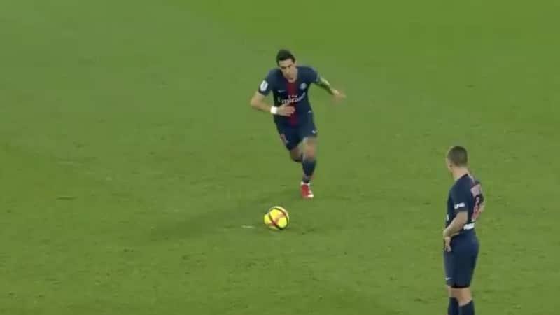 Video: PSG:n Angel Di Maria laukoi ihanan vaparimaalin Ranskassa