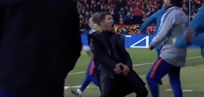 """Video: Diego Simeone esitti härskin tuuletuksen Juventusta vastaan – """"Se ei ollut mukava ele, myönnän"""""""