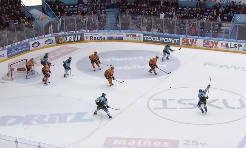 Video: Juhamatti Aaltonen teki mielettömän paluun Liigaan – Lahdessa 13 maalin karkelot