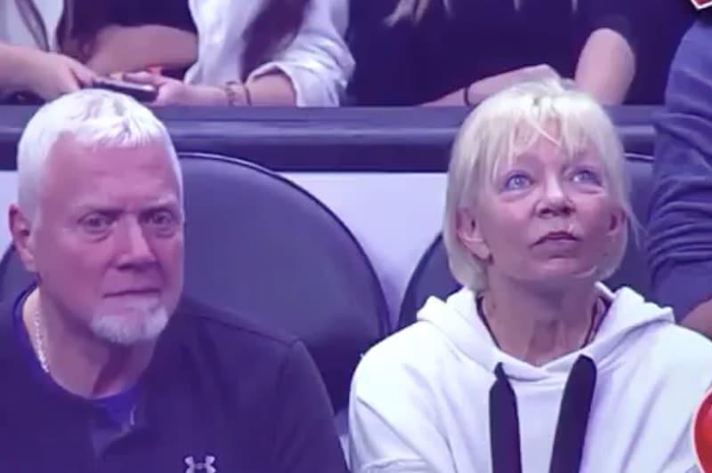Video: NBA-ottelussa nähtiin historian kovin Kiss Cam -suoritus