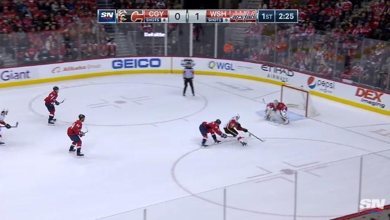 Video: Calgary Flamesin Mikael Backlund sooloili fantastisen osuman