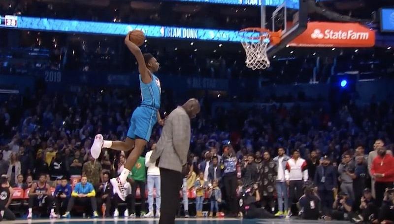 Video: Tässä NBA:n donkkikisan kaikki suoritukset – voittaja hyppäsi Shaquille O'Nealin ylitse