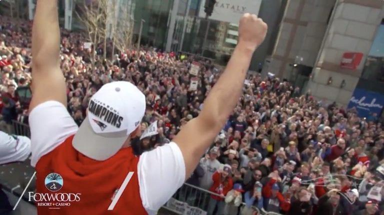 Video: New England Patriotsin mestaruusparaatissa paikalla yli miljoona ihmistä
