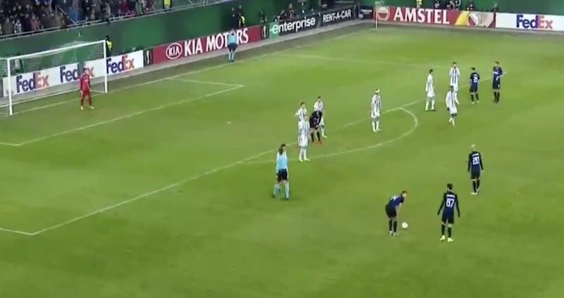 Video: Interin Ivan Perisic esitteli kauden surkeimman vapaapotkun