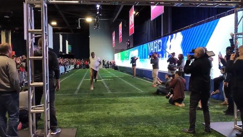 Video: Usain Bolt sivusi NFL:n kaikkien aikojen parasta aikaa 40 jaardilla