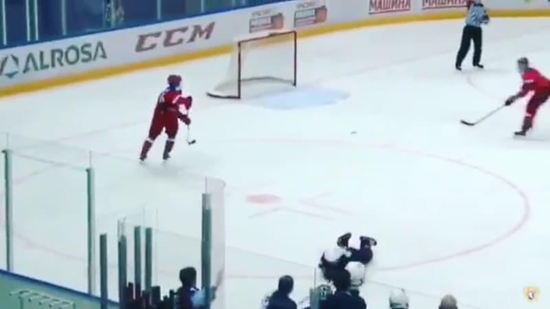 Video: Venäjä U18 mokasi kahdella nollaa vastaan tilanteen tyhjään maaliin