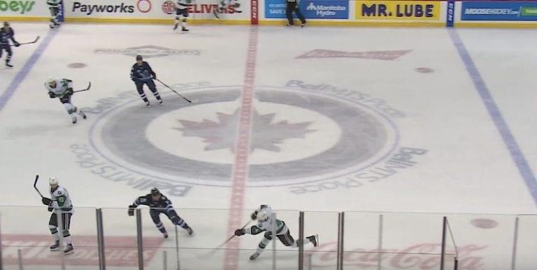Video: AHL-pakki onnistui maalinteossa satumaisen tuurin ansiosta