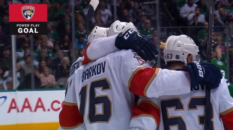 Video: Aleksander Barkov teki upeaa suomalaista NHL-historiaa