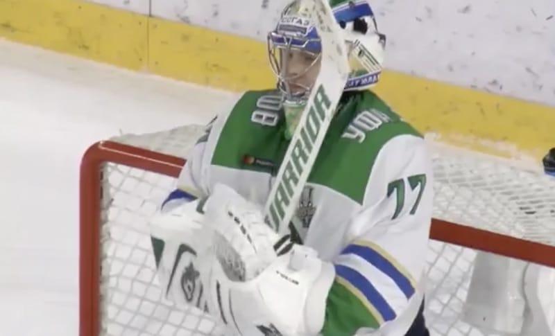 Video: Juha Metsola venytti huiman pelastuksen KHL:n pudotuspeleissä