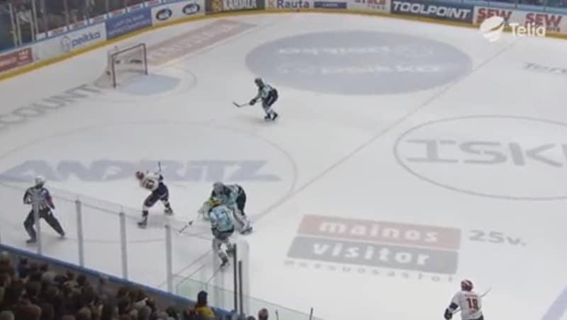 Video: Juhamatti Aaltonen nappasi Liiga-kauden huikeimman torjunnan