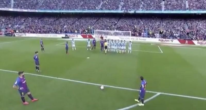 Video: Lionel Messi esitteli huiman oivalluksen – Espanyol-pelaajat sössivät pallon omiin