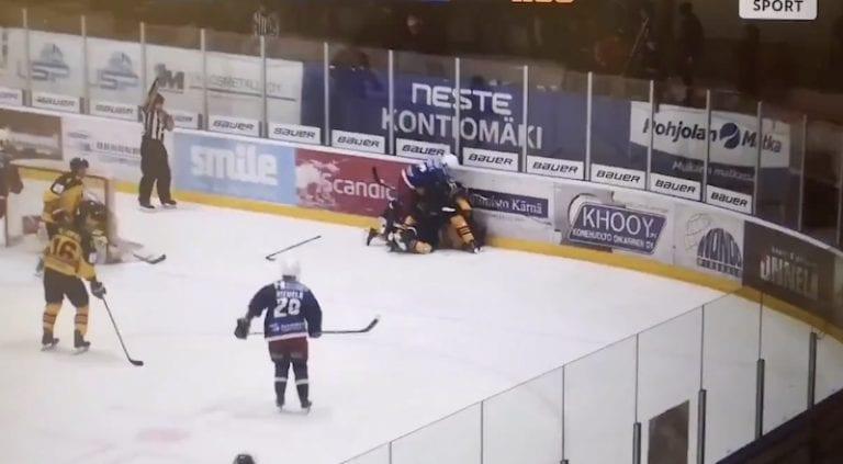 """Video: Mestis-pelaajan sekoaminen toi pitkän pelikiellon – """"Ei minkäänlaista mahdollisuutta suojautua"""""""