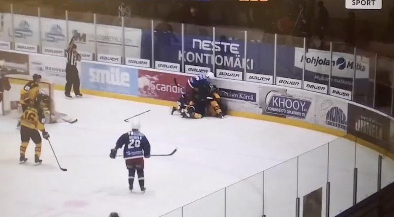 Video: Mestis-pelaajan sekoaminen toi pitkän pelikiellon –