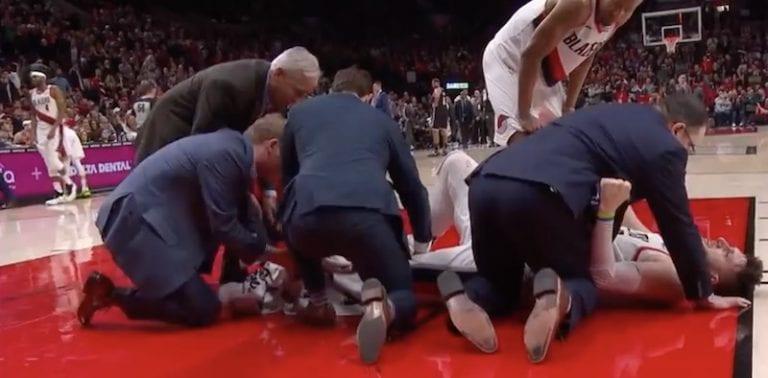 Video: NBA:ssa nähtiin järkyttävä loukkaantuminen – sääriluu katkesi karmivalla tavalla