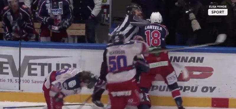 Video: Matt Nickerson sikaili oikein urakalla – Mestis pamautti puolustajalle pelikieltoa