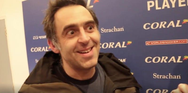 Video: Ronnie O'Sullivan antoi eeppisen haastattelun historiallisen hetken jälkeen