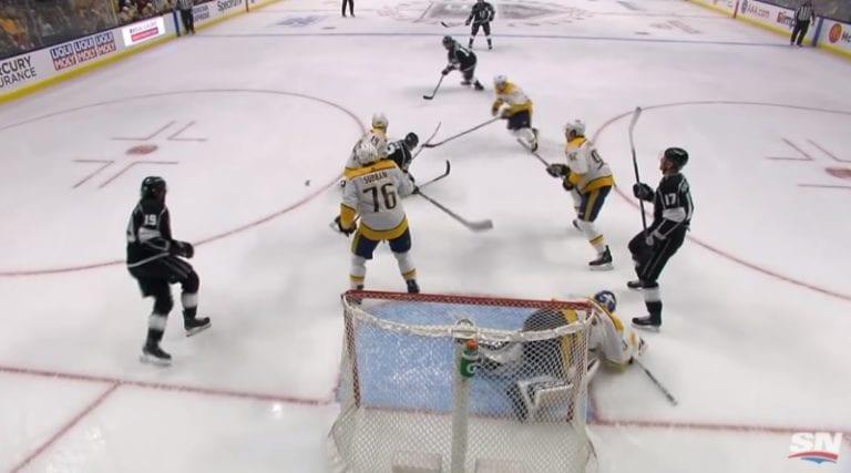 Video: Pekka Rinne nollasi Kovalchukin mahtavalla tavalla – Arvidsson maalasi vastahyökkäyksestä