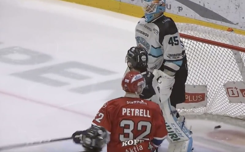 Video: HIFK iski uskomattoman onnekkaan pomppumaalin Liigan pudotuspeleissä