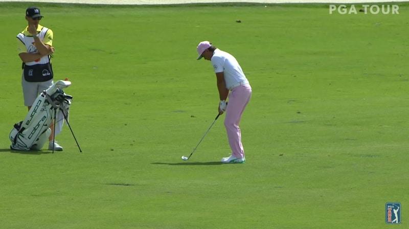 Video: Rickie Fowler upotti 100-metrisen eaglen PGA Tourilla