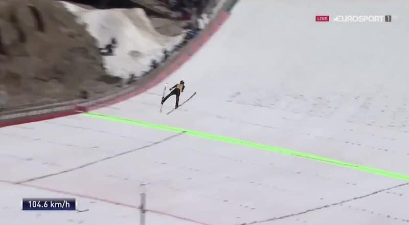 Video: Ryoyu Kobayashi esitti hirmuleiskautuksen Planicassa – hyppy kantoi peräti 252 metriä