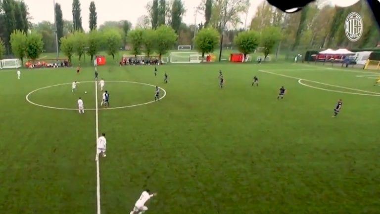 Video: AC Milanin junnulta maaginen suoritus – voittomaali lisäajalla suoraan aloituksesta