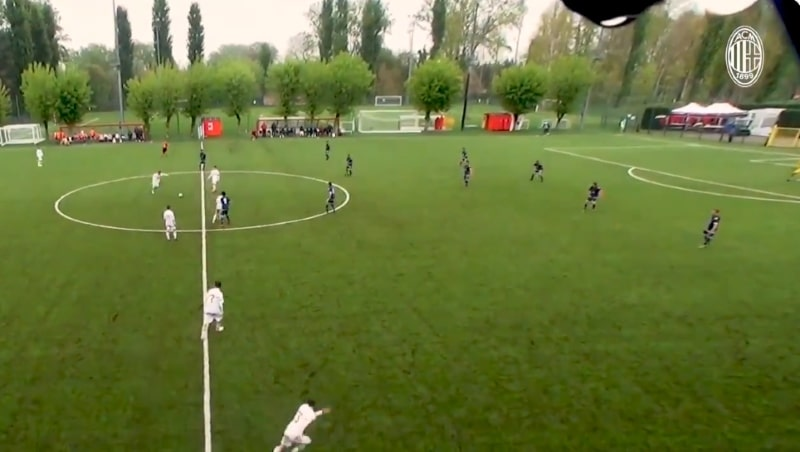 Video: AC Milanin junnulta maaginen suoritus - voittomaali lisäajalla suoraan aloituksesta