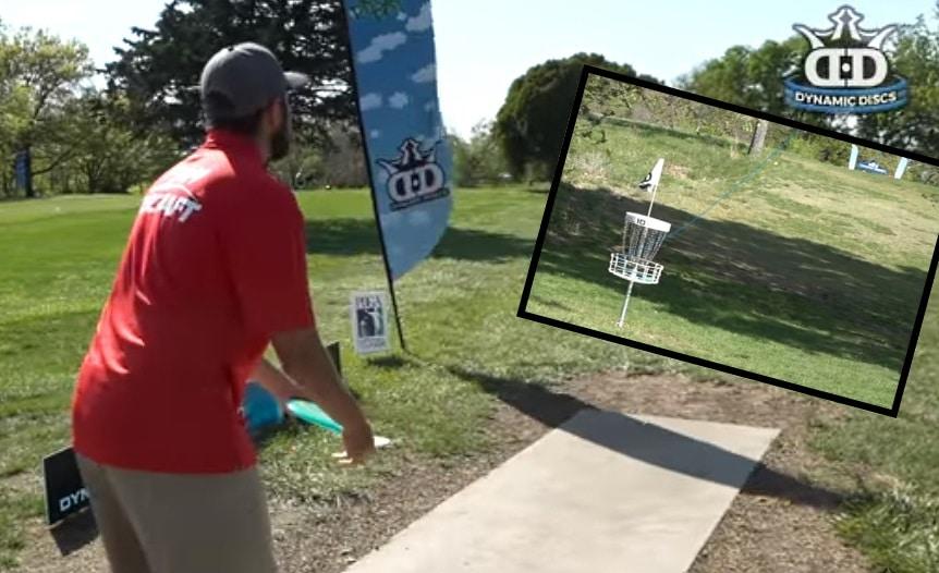 Video: Frisbeegolfin National Tourilla nähtiin uskomaton hole-in-one!