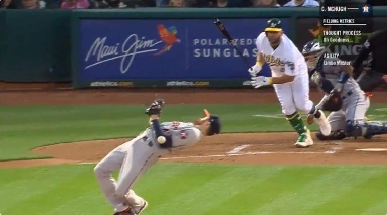 Video: MLB:ssä nähtiin jäätävä Matrix-tason refleksisuoritus