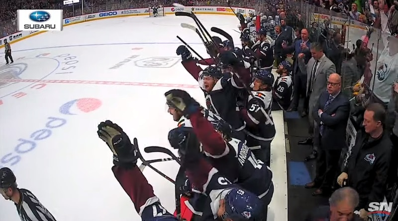 Video: Colorado Avalanche varmisti playoffs-paikan – Erik Johnsonin jatkoaikamaali räjäytti Pepsi Centerin