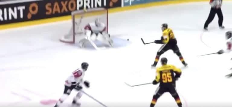 Video: Leon Draisaitl iski timanttisen osuman harjoituspelissä Itävaltaa vastaan