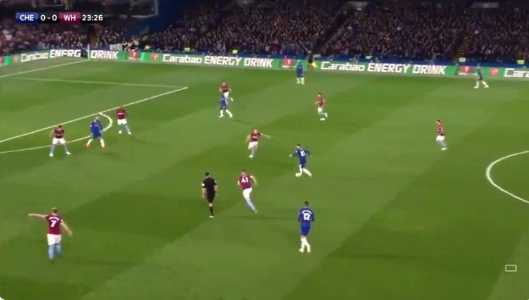 Video: Eden Hazard sooloili maagisen osuman West Hamia vastaan