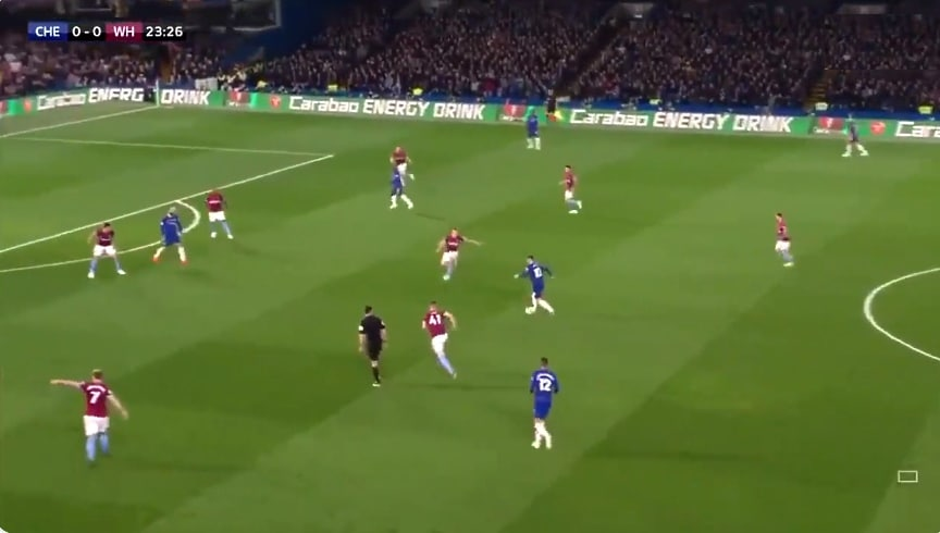 Video: Eden Hazard sooloili maagisen osuman West Hamia vastaan