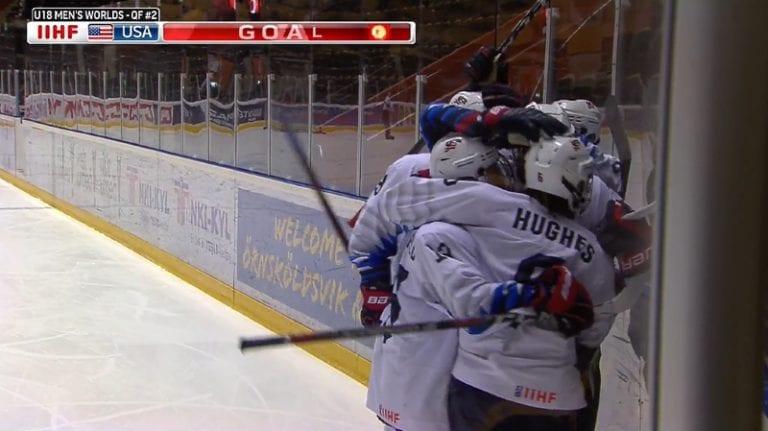 Jack Hughes hurjasteli hatullisen – USA murskasi Suomen puolivälierässä