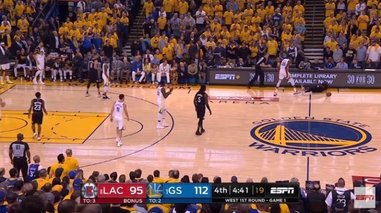 Video: Kevin Durant ja Pat Beverley saivat suihkukomennukset NBA:n playoffs-avauksessa