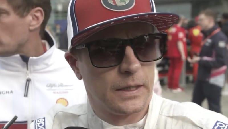 Kimi Räikkönen turhautui tiimiradiossa –