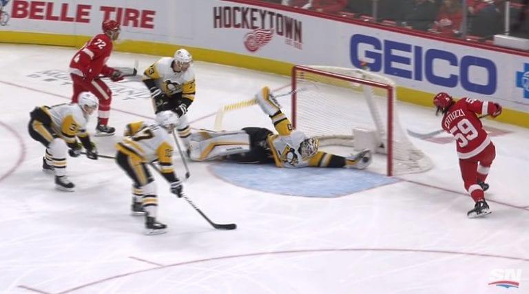 Video: Matt Murray esitteli NHL-kauden komeimman torjunnan – mutta ei sittenkään