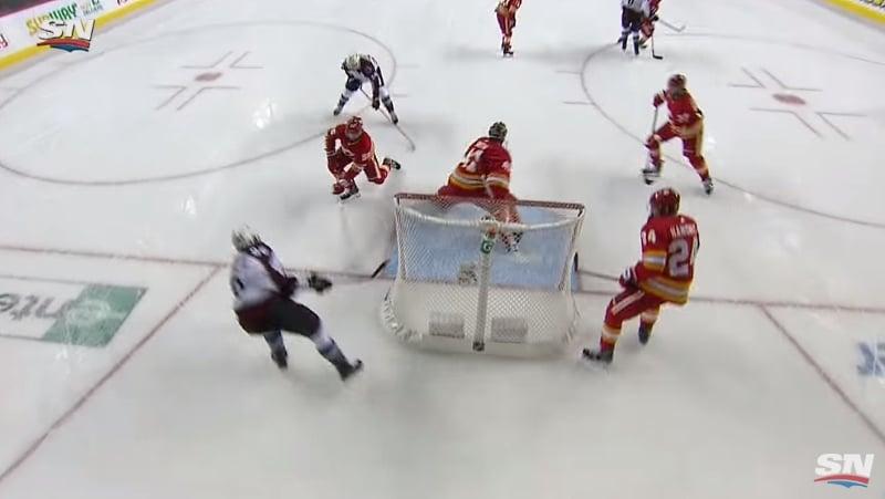 Video: Mikko Rantanen jälleen ilmiliekeissä - Colorado pudotti Calgaryn!