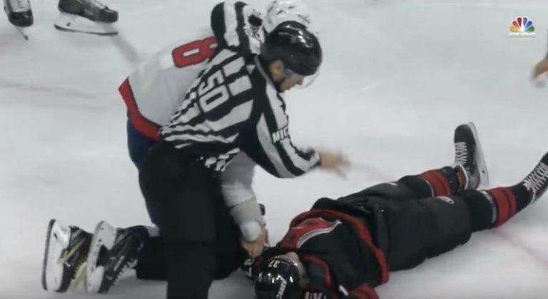 Video: Alexander Ovechkin jysäytti älyttömät iskut paljain nyrkein – maanmies nukahti jään pintaan
