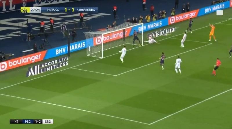 PSG Strasbourg Maxim Choupo-Moting moka - pallomeri.net