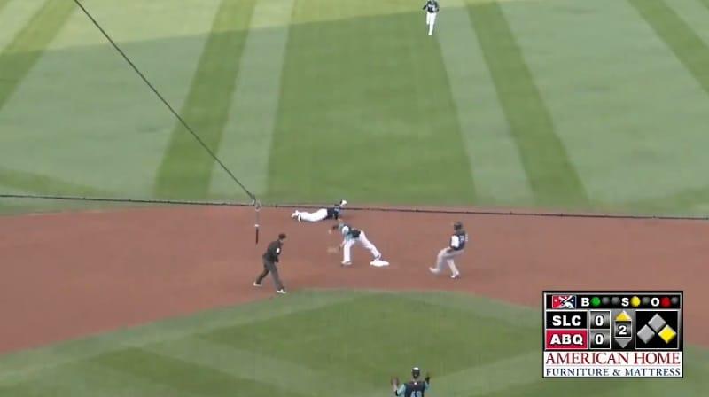 Video: Baseballin Minor Leaguessa nähtiin täysin uskomaton suoritus