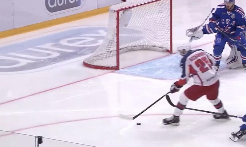 Video: SKA Pietarin maalivahdilta nähtiin koko KHL-kauden upein torjunta