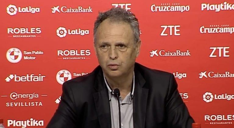 Sevilla-luotsilta ikävä ilmoitus voiton jälkeen – kärsii kroonisesta leukemiasta