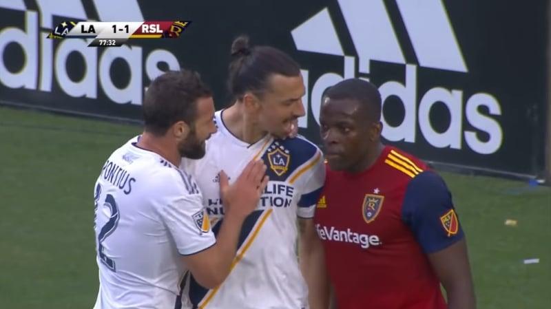 Zlatan Ibrahimovic MLS LA Galaxy - pallomeri.net