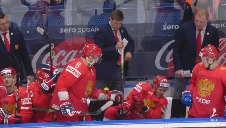 Video: Alexander Ovechkin pelasti Jevgeni Dadonovin komealla hanskatorjunnalla