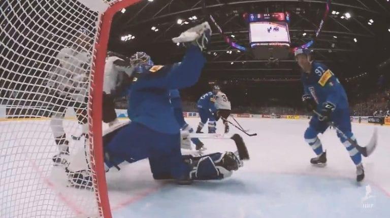 Video: Italian Andreas Bernard järkyttävässä vireessä Latviaa vastaan – torjui peräti 62 kertaa!