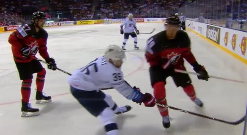 Video: Kanadan Anthony Mantha sai pelikiellon - joutuu huilaamaan puolivälierän