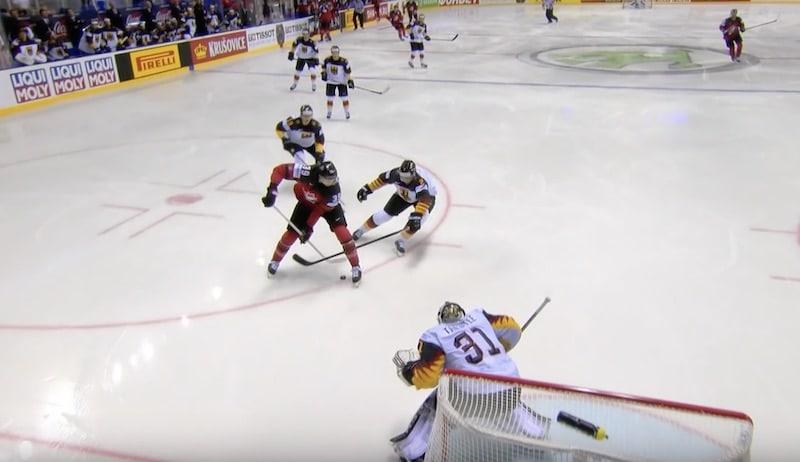 Video: Anthony Mantha taiteili huiman maalin jääkiekon MM-kisoissa