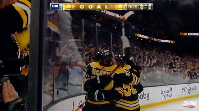 Video: Boston suoritti komean nousun Stanley Cupin avausfinaalissa