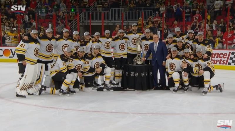 Video: Tuukka Raskille nollapeli – Boston jyräsi Stanley Cupin finaaleihin!